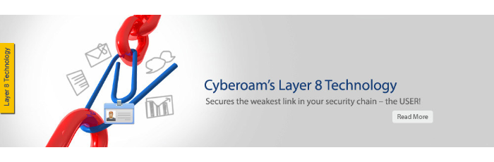 Cyberoam 8 Layer Technology